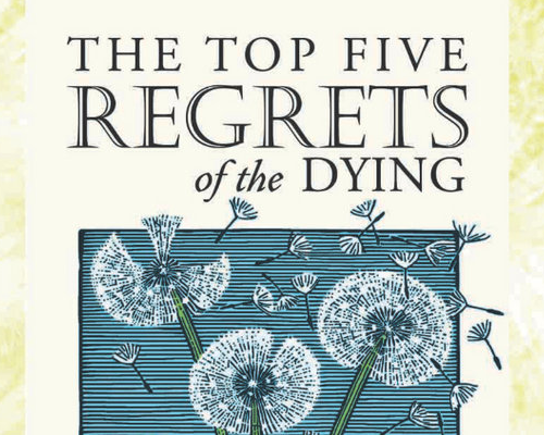 The Top Five Regrets - Book Cover